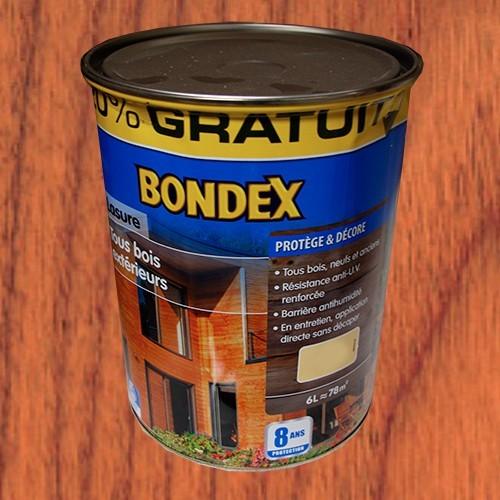 bondex lasure tous bois ext rieur 8 ans teck pas cher en ligne. Black Bedroom Furniture Sets. Home Design Ideas