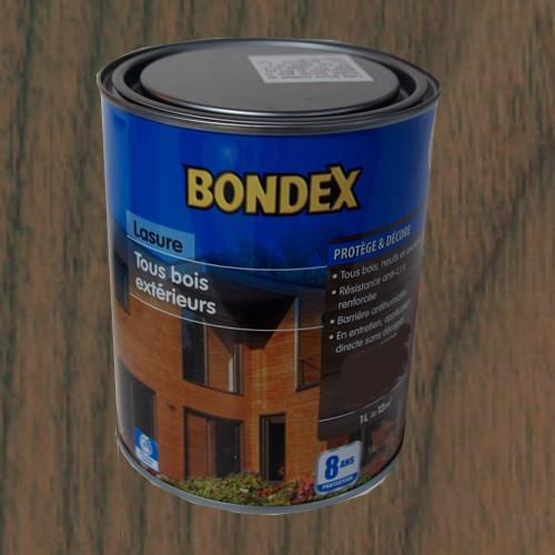 Bondex lasure tous bois ext rieur 8 ans ch ne rustique pas for Peinture exterieur pas cher