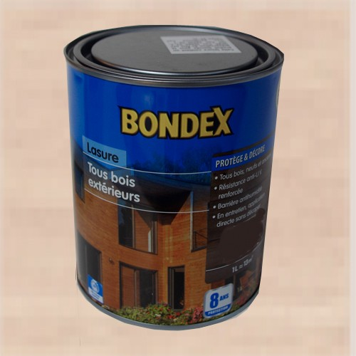 bondex lasure tous bois ext rieur 8 ans erable argent pas cher en ligne. Black Bedroom Furniture Sets. Home Design Ideas