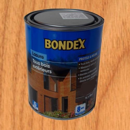 BONDEX Lasure Tous Bois Extérieur 8 ans Chêne doré