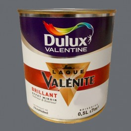 DULUX VALENTINE Laque Valénite Brillant Anthracite