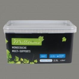 Peinture MILLESIME acrylique Ecorce Mat 2,5L