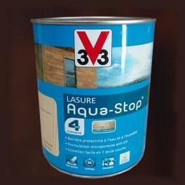 V33 Lasure Aquastop 4ans Chêne foncé
