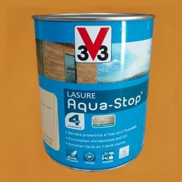 V33 Lasure Aquastop 4ans Chêne naturel