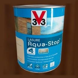 V33 Lasure Aquastop 4ans Chêne brun