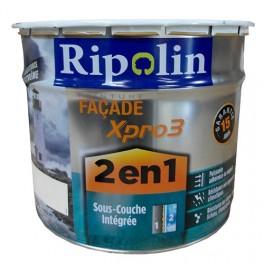 RIPOLIN Peinture Façade Xpro3 2en1 Blanc