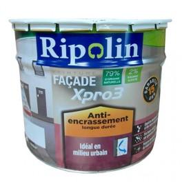 RIPOLIN Peinture Façade XPro3 Anti-encrassement Blanc