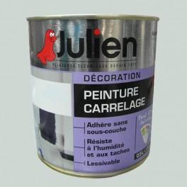 peinture acrylique carrelage julien gris perle 0 5l brillant peinture destock. Black Bedroom Furniture Sets. Home Design Ideas