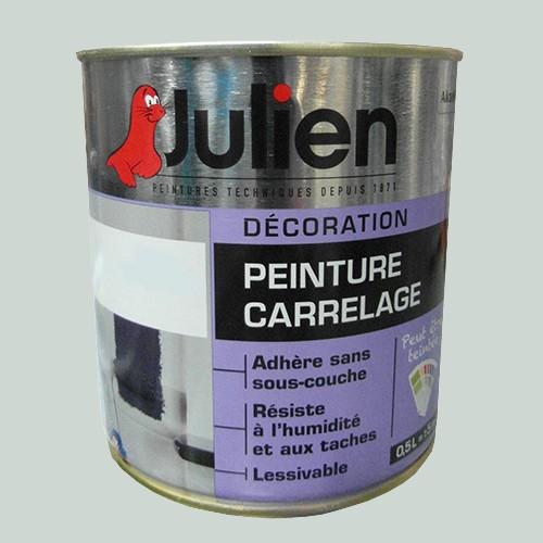 peinture acrylique carrelage julien gris perle 0 5l. Black Bedroom Furniture Sets. Home Design Ideas