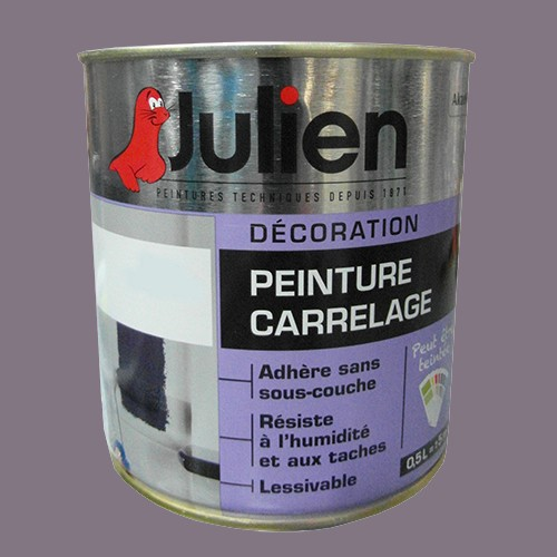 peinture acrylique carrelage julien b che 0 5l brillant peinture destock. Black Bedroom Furniture Sets. Home Design Ideas