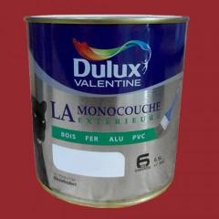 DULUX VALENTINE La Monocouche Extérieure Rouge piment