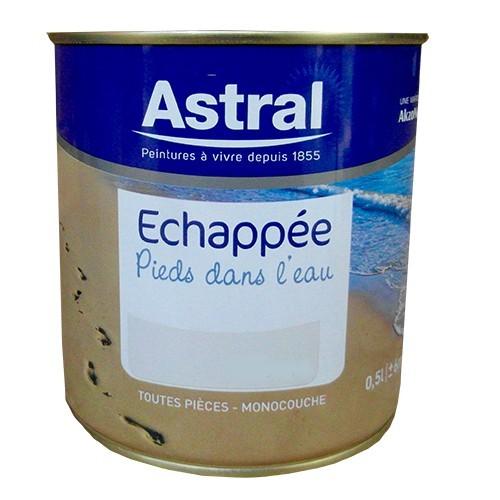 astral peinture echapp e pieds dans l 39 eau blanc satin pas cher en ligne. Black Bedroom Furniture Sets. Home Design Ideas