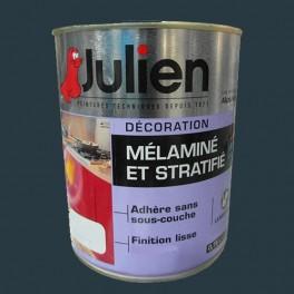Peinture acrylique Mélaminé et Stratifié Julien Poivre 0,75L Satin