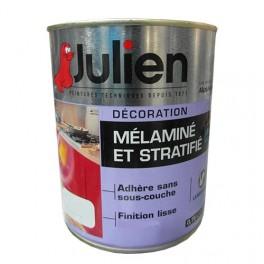 Peinture acrylique Mélaminé et Stratifié Julien Blanc 0,75L