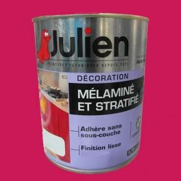 Peinture acrylique m lamin et stratifi julien sel marin 0 75l satin pas che - Peinture pour melamine ...