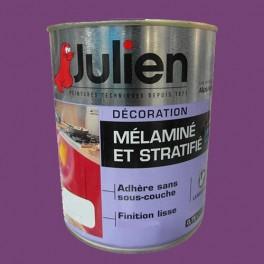 Peinture acrylique Mélaminé et Stratifié Julien Prune 0,75L