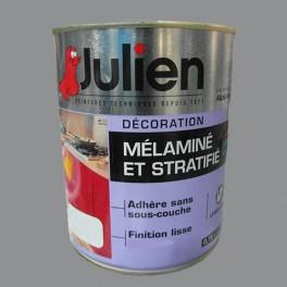 Peinture acrylique Mélaminé et Stratifié Julien Gris Building 0,75L Brillant