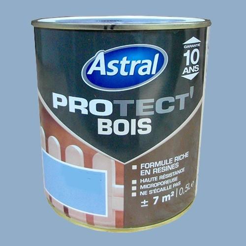 Peinture astral protect 39 bois ciel d 39 t pas cher en ligne - Peinture pour bois exterieur pas cher ...