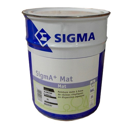 SIGMA Peinture SigmA+Mat 3L Blanc