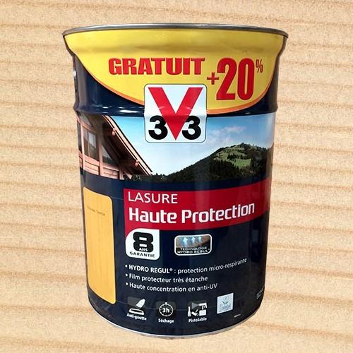 v33 lasure haute protection 8ans hydror gul incolore pas cher en ligne. Black Bedroom Furniture Sets. Home Design Ideas