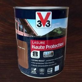 V33 Lasure Haute protection 8ans HydroRégul Chêne foncé
