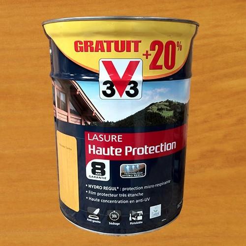v33 lasure haute protection 8ans chêne naturel pas cher en ligne