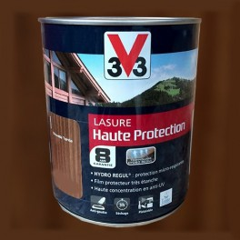 V33 Lasure Haute protection 8ans HydroRégul Chêne brun