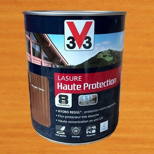 V33 Lasure Haute protection 8ans HydroRégul Chêne clair
