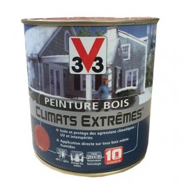 Peinture Bois V33 Climats Extrêmes Satin Blanc