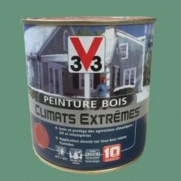 Peinture Bois V33 Climats Extrêmes Satin Vert olive
