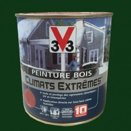 Peinture Bois V33 Climats Extrêmes Satin Vert basque