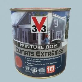 Peinture Bois V33 Climats Extrêmes Satin Bleu grisé