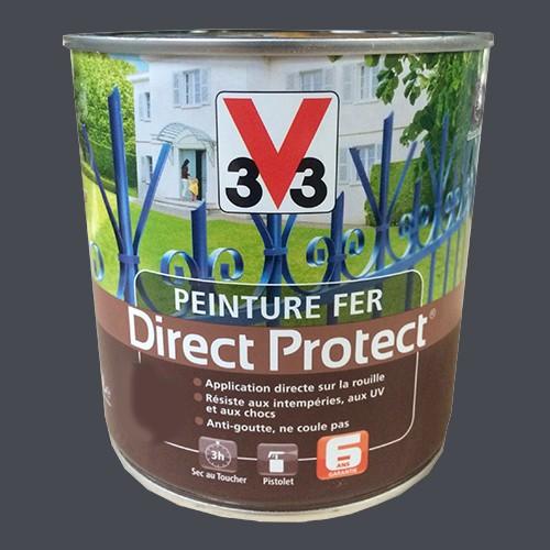 peinture v33 fer direct protect zinc pas cher en ligne. Black Bedroom Furniture Sets. Home Design Ideas
