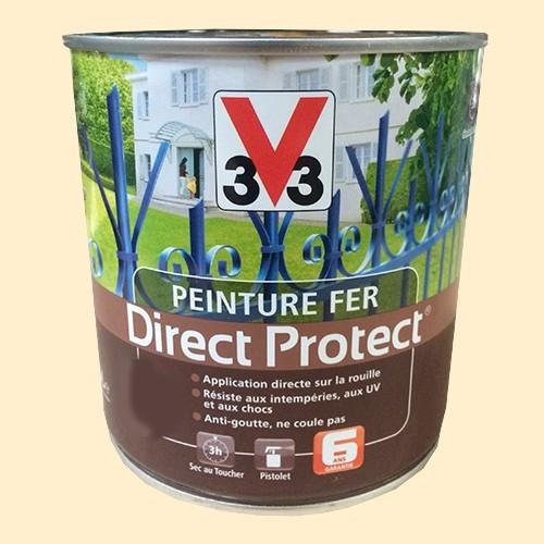 Peinture v33 fer direct protect craie pas cher en ligne for Peinture exterieur pas cher