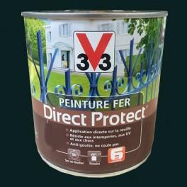 Peinture V33 Fer Direct Protect Vert Omorika