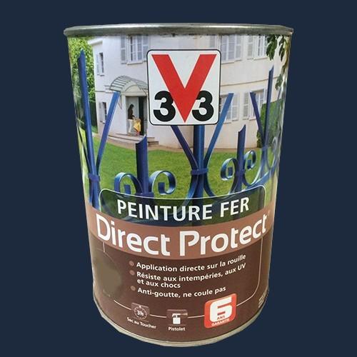 Peinture v33 fer direct protect bleu atlantique pas cher for Peinture exterieur pas cher
