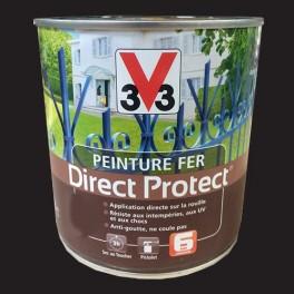 Peinture V33 Fer Direct Protect Noir Poudré