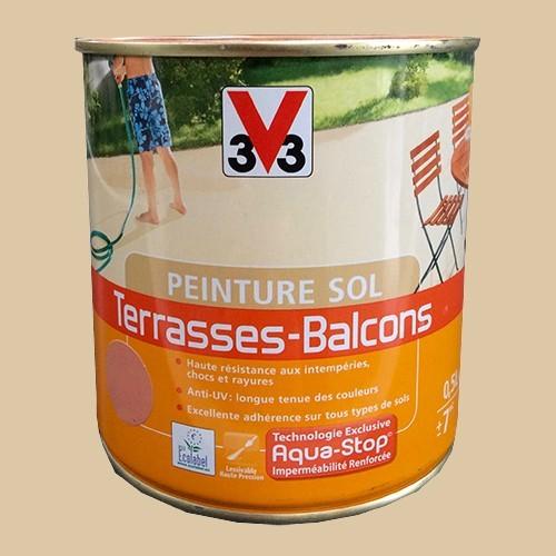 Peinture V33 Sol Terrasses Balcons Pierre Pas Cher En Ligne