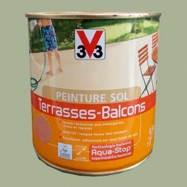 Peinture V33 Sol Terrasses - Balcons Lichen