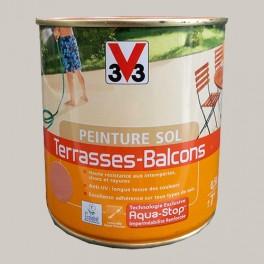 Peinture V33 Sol Terrasses - Balcons Galet