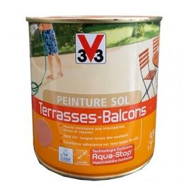 Peinture V33 Sol Terrasses - Balcons Blanc