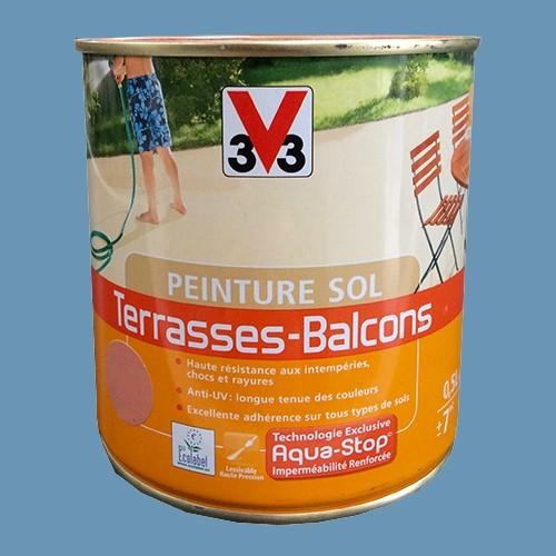 Peinture V33 Sol Terrasses - Balcons Ardoise