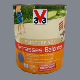 Peinture V33 Sol Terrasses - Balcons Cendre