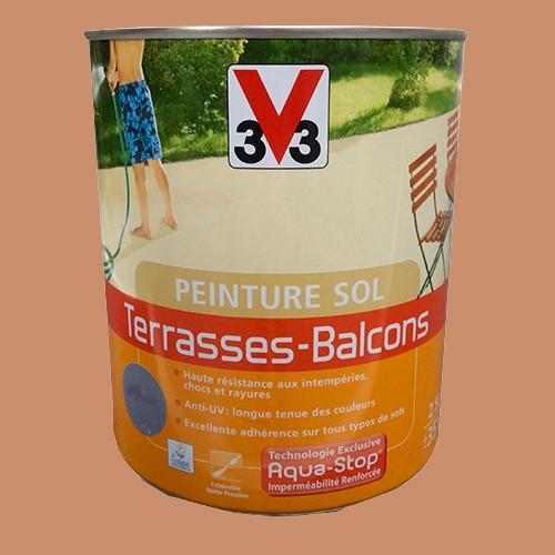Peinture V33 Sol Terrasses Balcons Brique Pas Cher En Ligne