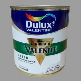 DULUX VALENTINE Laque Valénite Satin Titanium