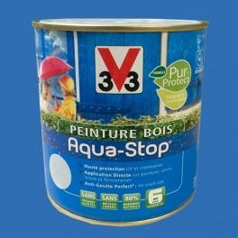Peinture V33 Bois Aqua-Stop Bleu Vendée Satin