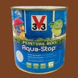 Peinture V33 Bois Aqua-Stop Brun Chaud Satin