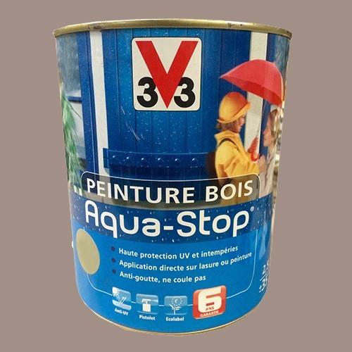 peinture v33 bois aqua stop satin 2 5l pas cher en ligne. Black Bedroom Furniture Sets. Home Design Ideas