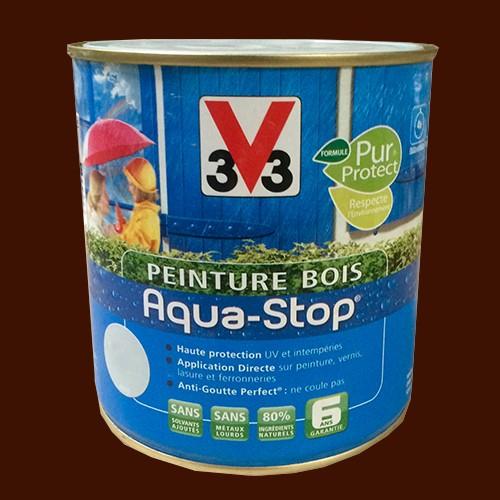 Peinture v33 bois aqua stop satin 2 5l pas cher en ligne - Peinture bois exterieur v33 ...