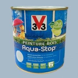 Peinture V33 Bois Aqua-Stop Bleu Patiné Satin